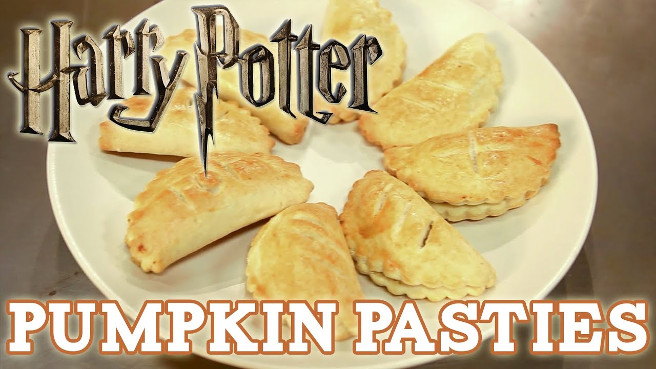 How to make PUMPKIN PASTIES from HARRY POTTER! Feast of Fiction S3 Ep2 ...