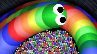Slither.io A.I. 208,000+ Score Epic Slitherio Gameplay