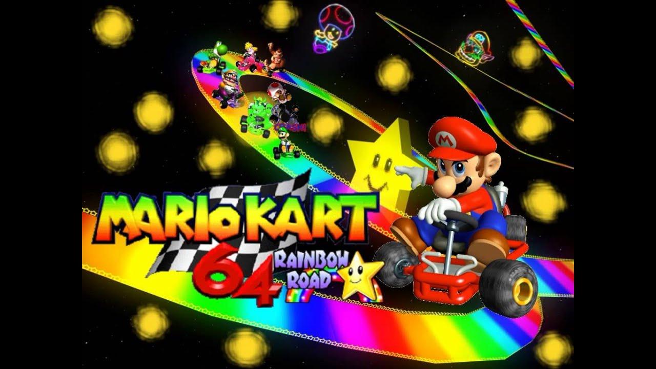 Mario Kart 64 Music Reverse Rainbow Road Reverse Vgm