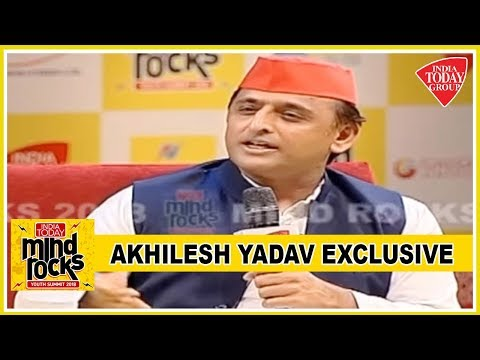 Akhilesh Yadav Exclusive : UP As Kurukshetra Who Will Win Maha Bharat? | Mind Rocks 2018