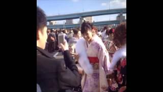 【衝撃映像】芸能人成人!!西内まりやが福岡の成人式に参加した結果!...