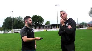 Atherton Collieries v Kidsgrove - 07/09/18 - Post Match Interview - Danny Lafferty