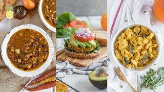 Savory Fall Pumpkin Recipes | Easy & Vegan