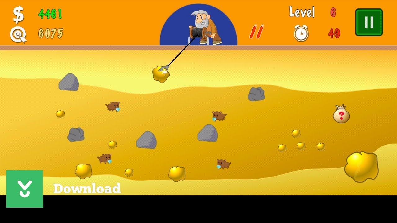 Old Gold Miner Game