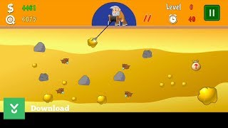 Gold Miner Classic - An old school arcade game where you act as a gold miner