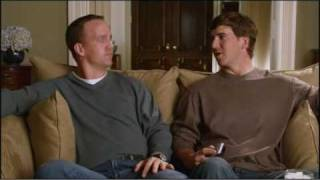 "Peyton vs. Eli ""Manning Bowl"" television commercial"