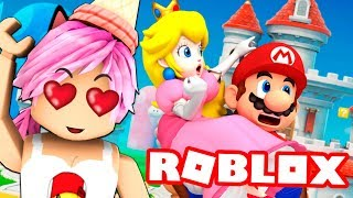 ESCAPE FROM THE WORLD OF SUPER MARIO OBBY ROBLOX