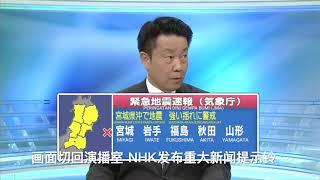 3.11发生时镇定的日本新闻主播 screenshot 3