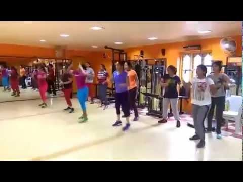 JPR's Universal GYM work out on kukuru kuru kukuru kur kick 2 song