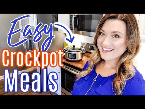 CROCKPOT RECIPES 2019 | COMFORT FOOD SLOWCOOKER MEALS | Cook Clean And Repeat
