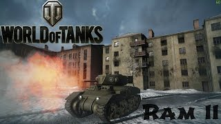 RAM II Conquering Kharkov! Ace Tanker replay - World of Tanks