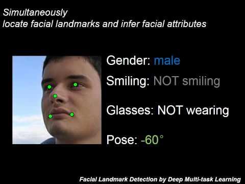 Facial Landmark Detection by Deep Multi-task Learning
