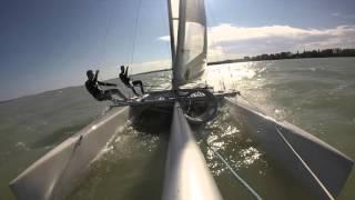 GoPro Catamaran Nacra 5.5 Balatonlelle