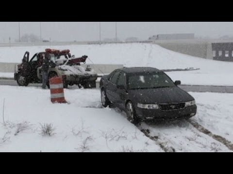 Spring Snowstorm Creates Unexpected Road Conditions