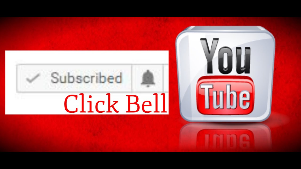 Youtube notification bell icon