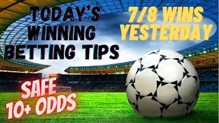 Football Predictions Today FIXED MATCHES 2 1 2020 Betting tips today Vip Betting tips