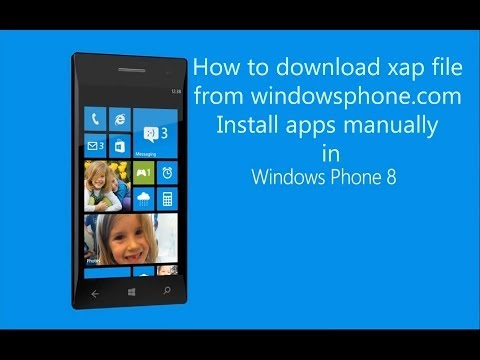 How To Download XAP File For Windows Phone Lumia | Install Apps From SD Card Manually ?