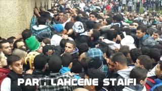 أجواء بيع التذاكر بملعب مصطفى تشاكر بالبليدة - مقابلة الجزائر |  بوركينافاسو