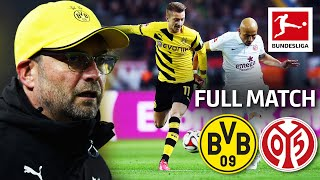 Borussia Dortmund vs. Mainz 05 | Full Game | Matchday 21- 2014/15 Season