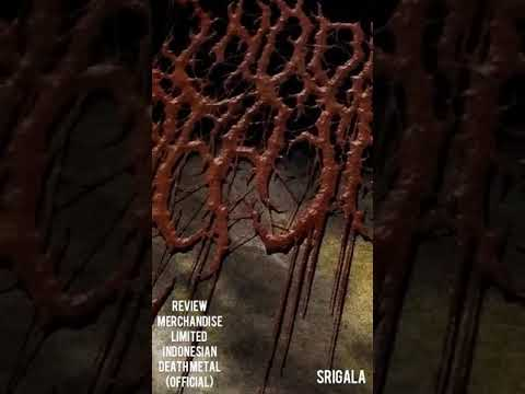 Review Merchandise Limited Indonesia Death Metal ( Official ) - Srigala