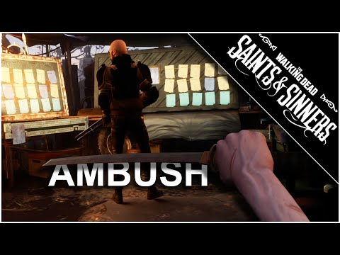 Bus Ambush / New Katana - The Walking Dead: Saints And Sinners Gameplay