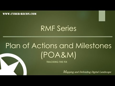 An Introduction to the Plan of Actions and Milestones (POA&M)