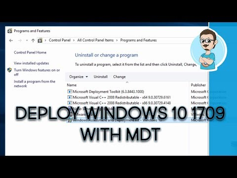 Deploy Windows 10 1709 with MDT! (Step-by-Step) - YouTube