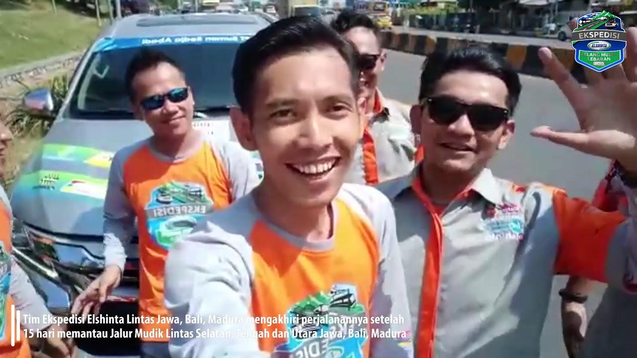 Tim #EkspedisiElshinta Lintas Jawa, Bali, Madura Mengakhiri Perjalanannya
