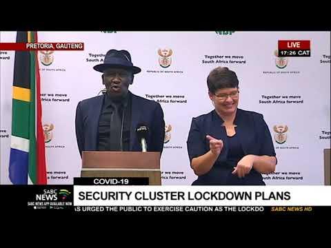 Coronavirus Lockdown I Minister Bheki Cele says police will be on alert