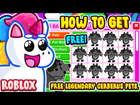 HOW TO GET A *FREE* LEGENDARY CERBERUS PET IN ADOPT ME! Roblox Adopt Me Halloween Update