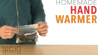 Homemade Hand Warmer - Sick Science! #227