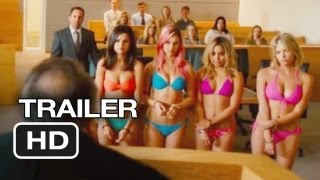spring breakers official trailer #1 (2013) - james franco movie hd
