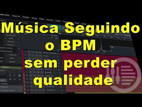 Música Seguindo o BPM sem perder qualidade