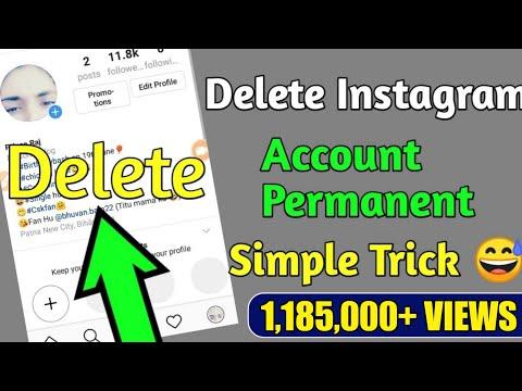 Instagram account delete kaise kare . // Instagram account delete permanent