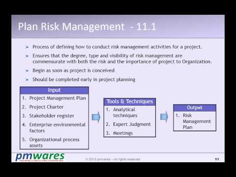 Project Management Online Workshop - Mar-2014 - P08.2 - HR & Risk - By pmwares