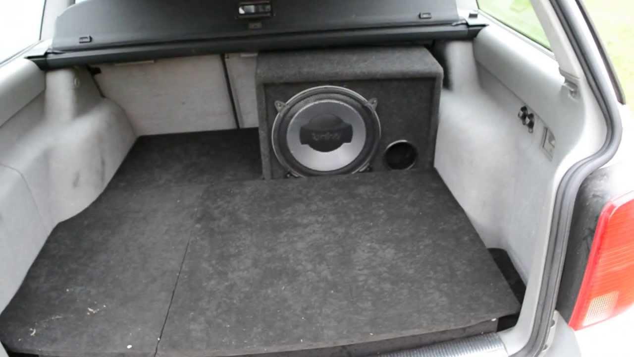 zabudowa baga nika vw passat b5 3b car audio youtube. Black Bedroom Furniture Sets. Home Design Ideas