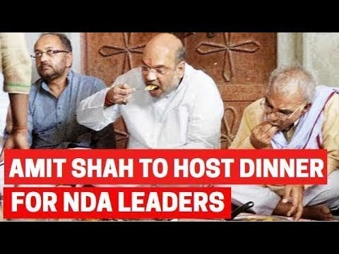 Amit Shah to host dinner for NDA leaders