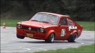 2009 DMSB Auto-Slalom Neuss, STC Wesel, Olaf Jäntsch, Opel Kadett CQP 16V, Spezial thumbnail