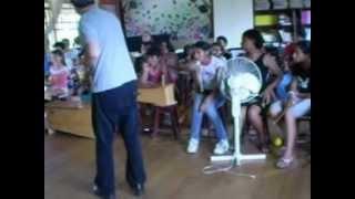 Oficina Cinema mudo com Crianças com Livio Tragtenberg em Lages, SC - 03
