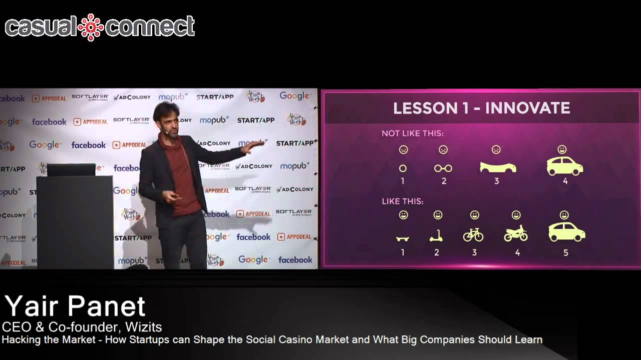 Startups Shape the Social Casino Market | Yair Panet