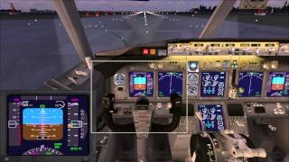 Microsoft Flight Simulator X  взлет