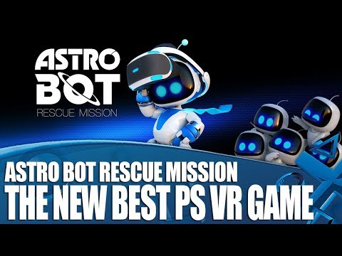 Astro Bot Rescue Mission - PS VR's New Best Game