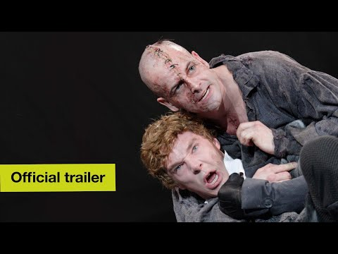 Official Trailer | Frankenstein w Benedict Cumberbatch & Jonny Lee Miller | National Theatre at Home