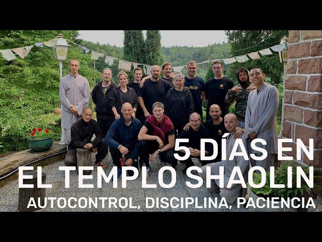 5 días en el Monasterio del Templo Shaolin Europa || Experiencia personal