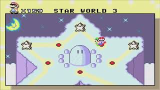 Super Mario World: Super Mario Advance 2 (GBA) - Star Road - All Levels (Gameplay/Walkthrough)