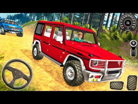 Offroad Jeep Prado 4x4 Driving Simulator - Cars Hill Adventure Driver 3D - Android GamePlay