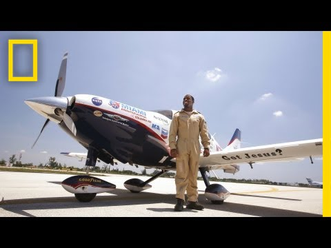 Barrington Irving: Teaching from the Skies | Nat Geo Live