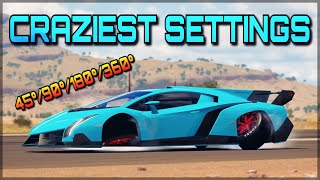 CRAZY CAMBER MODS | Forza Horizon 3 | Funny Settings ㋡