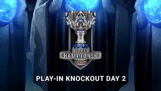 2018 World Championship: Play-in Knockout Day 2