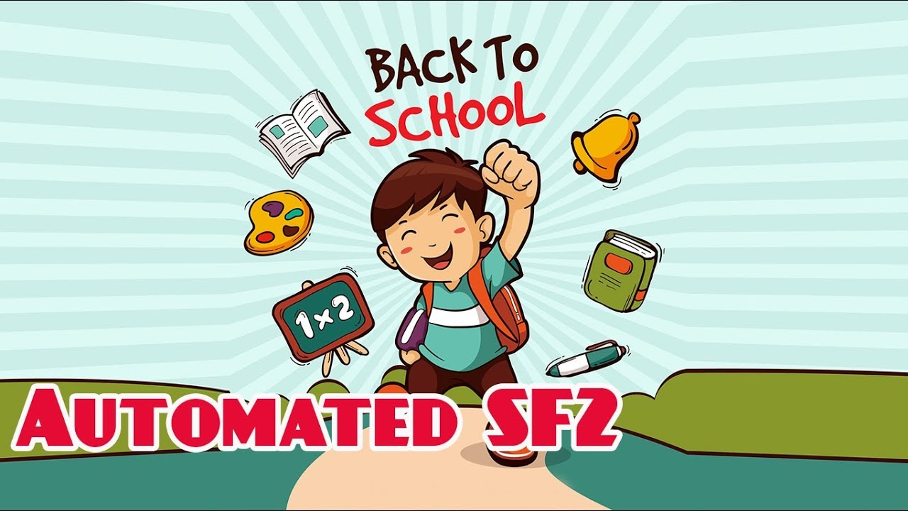 Automated SF2 2019-2020 ( DepED School Form 2 ) Daily Attendance Sheet